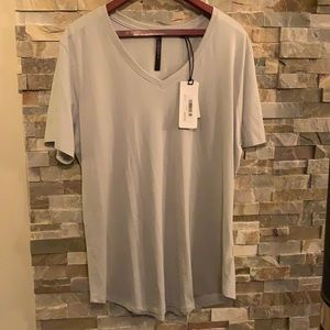 Silver Jeans Super Soft Tee V Neck 3X